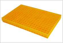 600 x 400 propagation tray in yellow image